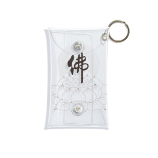 佛×蓮 Mini Clear Multipurpose Case