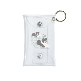 Border collie Mini Clear Multipurpose Case