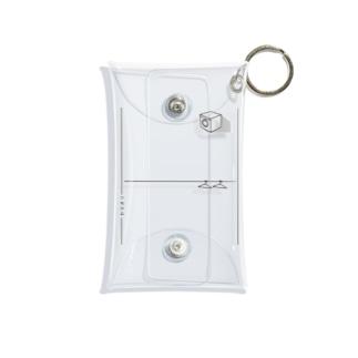 """ヤマオリタニオリ(""""たたむ人""""に優しいデザイン) Mini Clear Multipurpose Case"""