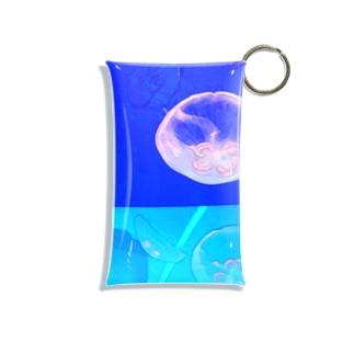 海月〜くらげ〜 Mini Clear Multipurpose Case