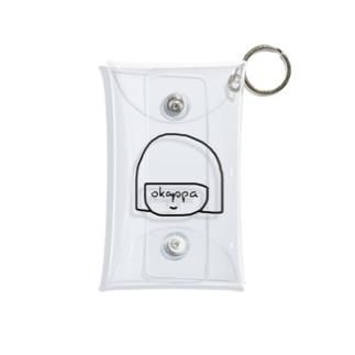 okappasan Mini Clear Multipurpose Case