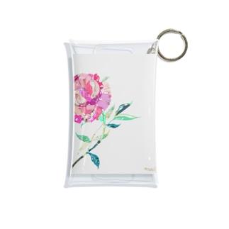芍薬  Mini Clear Multipurpose Case