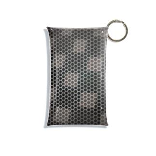鉄網デザイン Mini Clear Multipurpose Case