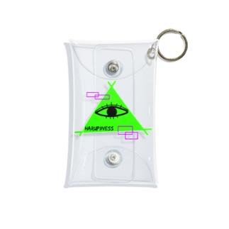 発光ミッドくん Mini Clear Multipurpose Case