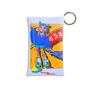 TKS original^4 Mini Clear Multipurpose Case