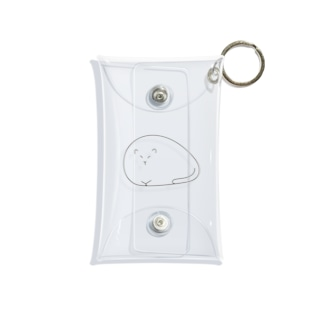 yugoro5の液体化したねこ2 Mini Clear Multipurpose Case