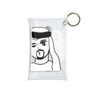 石油王だよ♡ Mini Clear Multipurpose Case