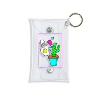 hikari watabeのステイホームゥ Mini Clear Multipurpose Case