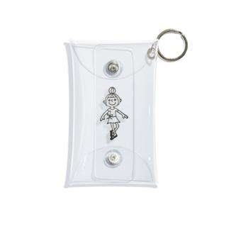 バレエ 女の子 Mini Clear Multipurpose Case