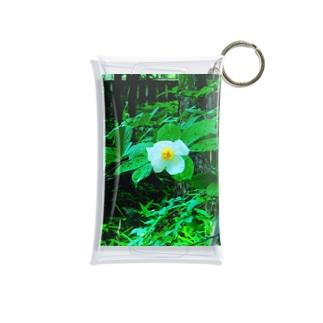 miyimの椿の花 Mini Clear Multipurpose Case