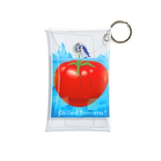 Slow TypingのChilled Tomato 冷やしトマト 192 Mini Clear Multipurpose Case