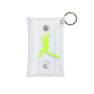 夏 Mini Clear Multipurpose Case