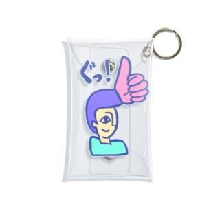 リーゼント燃えてるよ ぐっ!Ver. Mini Clear Multipurpose Case