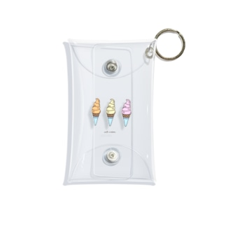 soft creams??? Mini Clear Multipurpose Case