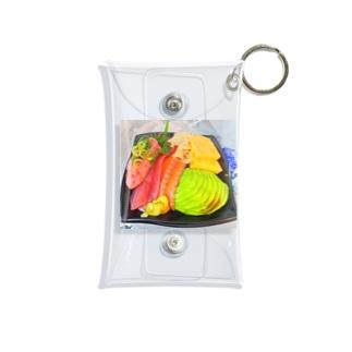 シーモンちゃんの海鮮丼(アボカド) Mini Clear Multipurpose Case