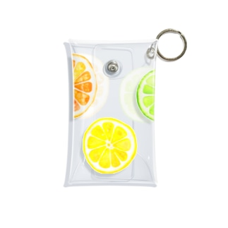 シトラスフルーツ! Mini Clear Multipurpose Case