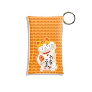 Lucky Cat Mini Clear Multipurpose Case