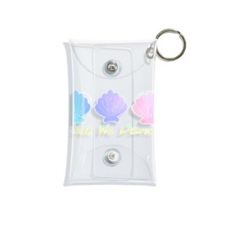 Shell We Dance Mini Clear Multipurpose Case