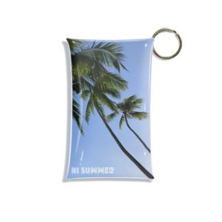 Hi summer Mini Clear Multipurpose Case