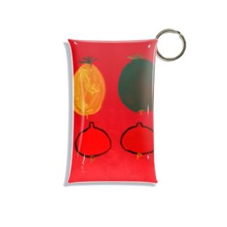 のえるっかのかぼちゃ Mini Clear Multipurpose Case