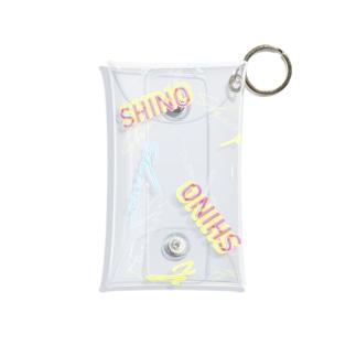 shino logo multi case Mini Clear Multipurpose Case