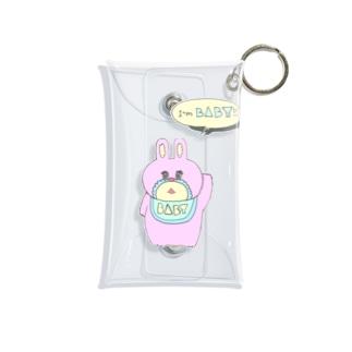 【Yuwiiの店】ゆぅいーのうさBABY Mini Clear Multipurpose Case