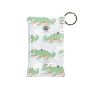 wow…hani? 2。 Mini Clear Multipurpose Case