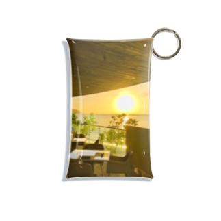 グアムの景色 Mini Clear Multipurpose Case