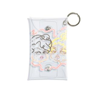 ACNE(PINK ver) Mini Clear Multipurpose Case