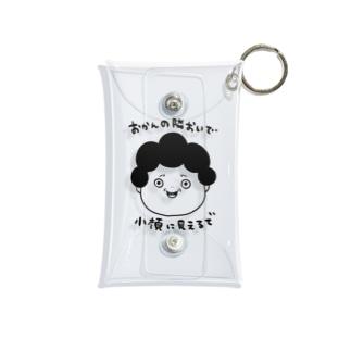 おかん3 Mini Clear Multipurpose Case