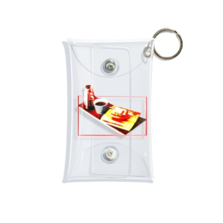 モーニングセット Mini Clear Multipurpose Case
