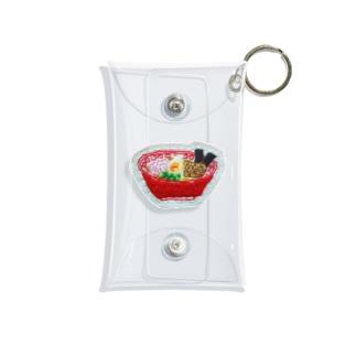 刺繍で作ったおいしい醤油ラーメン Mini Clear Multipurpose Case