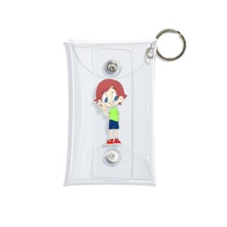 アメコミ風 Mini Clear Multipurpose Case