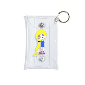 アメコミ風② Mini Clear Multipurpose Case