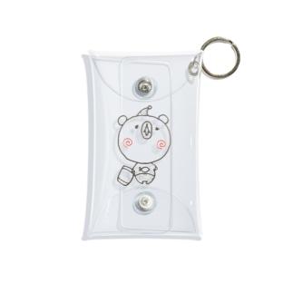 眠りの森のクマさん Mini Clear Multipurpose Case