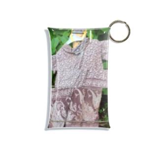 グリッチ雨合羽 Mini Clear Multipurpose Case