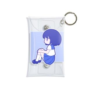 セーラー服ちゃん Mini Clear Multipurpose Case