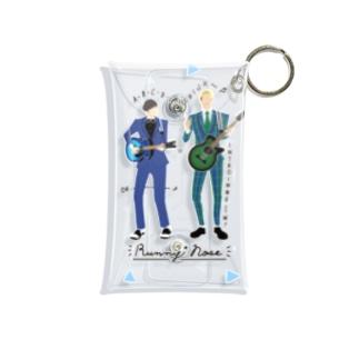 よしもと芸人オフィシャルショップのzakkaYOSHIMOTO ラニーノーズ Mini Clear Multipurpose Case