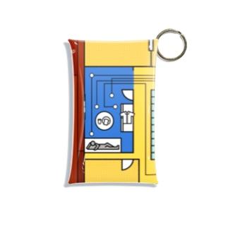 モーニングルーティン 黄 Mini Clear Multipurpose Case