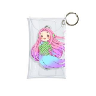 アマビエ様 Mini Clear Multipurpose Case