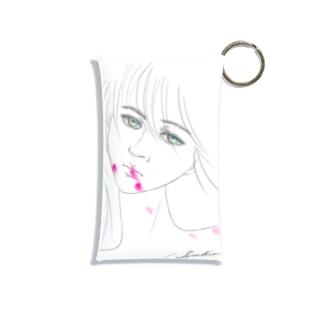 Lipstick_blood Mini Clear Multipurpose Case