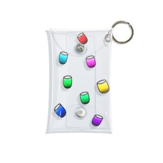 カラフルなやーつ Mini Clear Multipurpose Case