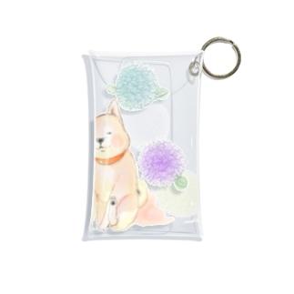 丸花と柴子 Mini Clear Multipurpose Case