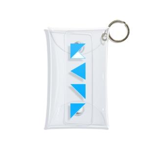 謎記号グッズ Mini Clear Multipurpose Case
