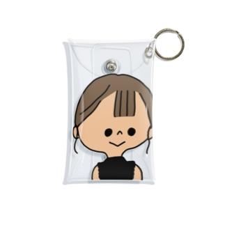 夏服出した Mini Clear Multipurpose Case