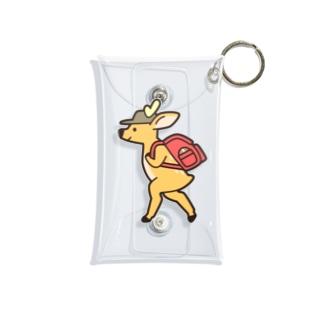 旅する鹿さん Mini Clear Multipurpose Case