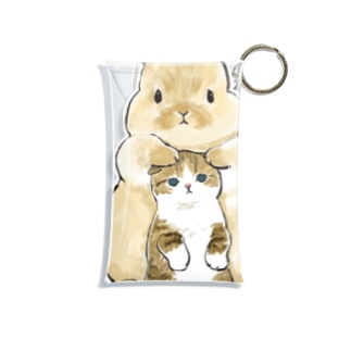 ちっこいねこ Mini Clear Multipurpose Case