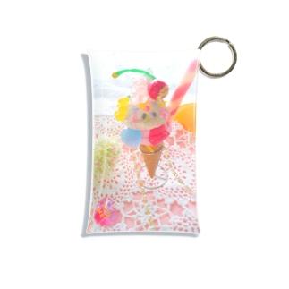 Bear Gummy Pafeit Mini Clear Multipurpose Case