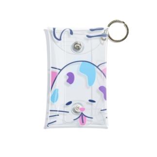 ゆるニャンコ(真夏に溶けそうな夏バテ猫ちゃん) Mini Clear Multipurpose Case