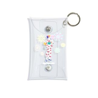 お祭り騒ぎ Mini Clear Multipurpose Case
